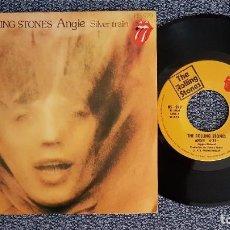 Discos de vinilo: THE ROLLING STONES - ANGIE / SILVER TRAIN. EDITADO POR HISPAVOX. AÑO 1.973. Lote 226145650