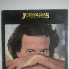 "Discos de vinilo: VINILO 12"" LP JULIO IGLESIAS MOMENTOS - 1982 - 280G. Lote 226151015"