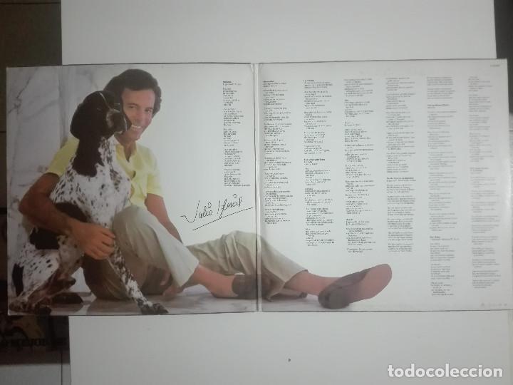 """Discos de vinilo: VINILO 12"""" LP JULIO IGLESIAS MOMENTOS - 1982 - 280g - Foto 2 - 226151015"""