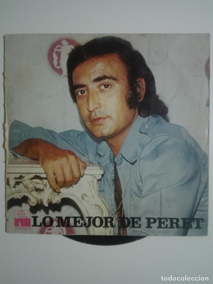 """VINILO 12"""" LP LO MEJOR DE PERET - 1974 - 220G (Música - Discos - LP Vinilo - Solistas Españoles de los 70 a la actualidad)"""