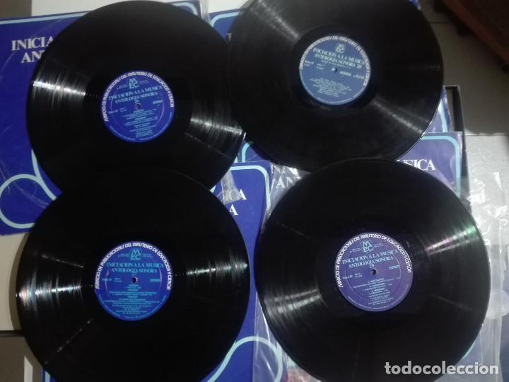 "Discos de vinilo: 4 VINILOS 12"" 4 LPs INICIACION A LA MUSICA ANTOLOGIA SONORA 26, 27, 28, 29 - MUSICA CLASICA - 1,2Kg - Foto 3 - 226153238"