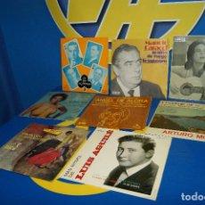 """Discos de vinilo: LOTE 8 EPS-7"""" SINGLES -FLAMENCO-ESPAÑA CAÑI-SARA MONTIEL Y MAS.... Lote 226164515"""