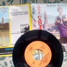 Discos de vinilo: E.P. ( VINILO) DE MATIAS MALUENDA AÑOS 60. Lote 226217695