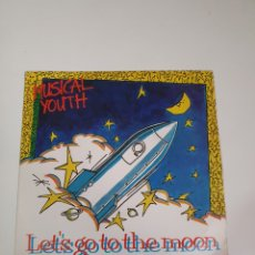 Discos de vinilo: MUSICAL YOUTUBE - LET'S GO THE MOON / JAMMING IN THE CLASSROOM, PROMO MCA RECORDS 1984.. Lote 226218815
