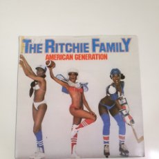 Discos de vinilo: THE RICHIE FAMILY - AMERICAN GENERATION / MUSIC MAN, MERCURY 6007 199, UK 1978.. Lote 226220865