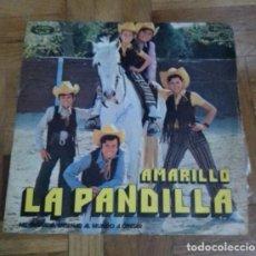 Discos de vinilo: SINGLE LA PANDILLA AMARILLO ME GUSTA ENSEÑAR AL MUNDO CANTAR MOVIEPLAY 1972. Lote 226232740