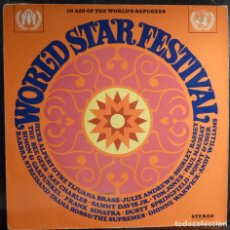 Discos de vinilo: WORLD STAR FESTIVAL // IN AID OF THE WORLD´S REFUGEES //LP. Lote 226235915