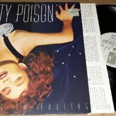Discos de vinilo: LP - PRETTY POISON - CATCH ME I'M FALLING - MADE IN UK. Lote 226238845