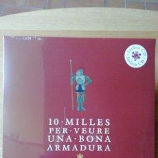 Discos de vinilo: MANEL. 10 MILLES PER VEURE UNA BONA ARMADURA. LP. Lote 226244472