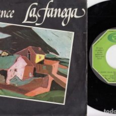 Discos de vinilo: LA FANEGA - ROMANCE - FOLKLORE CASTELLANO - SINGLE DE VINILO. Lote 226248215