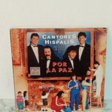 Discos de vinilo: DOBLE LP CANTORES DE HISPALIS. Lote 226265680