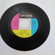 Discos de vinilo: LITTLE ESTHER PHILLIPS & BIG AL DOWNING / YOU NEVER MISS YOUR WATER / USA / SOUL / 1963 / VG. Lote 226277885