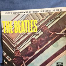 Discos de vinilo: THE BEATLES -I WANT TO HOLD YOUR HAND +3. Lote 226281975