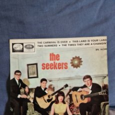 Discos de vinilo: THE SEEKERS-THE CARNIVAL IS OVER +3. Lote 226282691