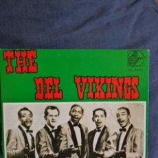 Disques de vinyle: THE DEL VIKINGS-FLAT TYRE+3. Lote 226285645