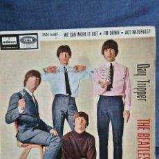 Discos de vinilo: THE BEATLES-DAY TRIPPER +3. Lote 226287153