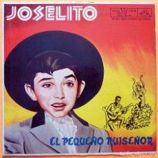Discos de vinilo: JOSELITO: EL PEQUEÑO RUISEÑOR - LP - RCA VICTOR (MEXICO) - 1962. Lote 226306777