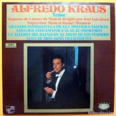 Discos de vinilo: ALFREDO KRAUS: TENOR - LP - ZAFIRO - 1972 - BUEN ESTADO (VG / VG+). Lote 226308855