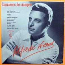 Discos de vinilo: ALFREDO KRAUS: CANCIONES DE SIEMPRE - LP - CARILLON - 1964 - EXCELENTE ESTADO (EX / EX). Lote 226309875