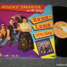 Discos de vinilo: ROCKY SHARPE & THE REPLAYS - EDICION EN MAXISINGLE NUEVA VERSION 1990 DANCE ESPECIAL DISCOTECAS. Lote 226344050