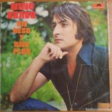 Discos de vinilo: LP NINO BRAVO UN BESO Y UNA FLOR. Lote 226355112