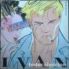 Discos de vinilo: IVAN, HEY MADEMOISELLE, MAXI-SINGLE SPAIN 1986 PROMO. Lote 226359060