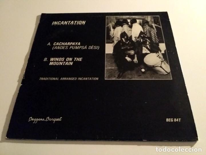 Discos de vinilo: Incantation - Cacharpaya (Andes Pumpsá Dèsi) - Foto 2 - 226360085