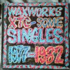 Discos de vinilo: XTC - WAXWORKS, SOME SINGLES 1977-1982. LP EDICIÓN ESPAÑOLA. Lote 226365120