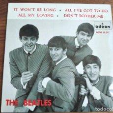 Discos de vinilo: THE BEATLES- ALL MY LOVING + 3 ******** RARO EP ESPAÑOL 1964 GRAN ESTADO. Lote 226388525