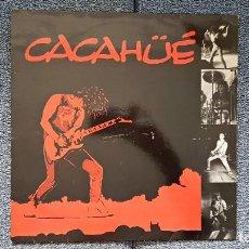 Discos de vinilo: CACAHÜÉ - CACAHÜÉ - MINI LP. 4 CANCIONES (DEPORTIVO + 3) EDITADO POR SONS AÑO.1.991.NO HAY UNIDADES. Lote 226390760