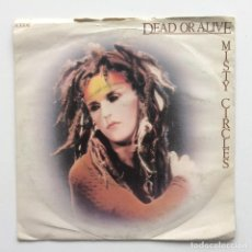 Discos de vinilo: DEAD OR ALIVE ‎– MISTY CIRCLES UK,1983. Lote 226391535