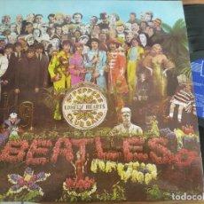 Discos de vinilo: THE BEATLES - SGT PEPPER'S LONELY HEARTS CLUB ...***** RARO LP ESPAÑOL SEGUNDA EDICIÓN GRAN ESTADO. Lote 226391740
