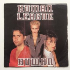 Discos de vinilo: HUMAN LEAGUE ‎– HUMAN UK,1986. Lote 226393790