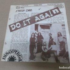 Dischi in vinile: STEELY DAN (SINGLE) DO IT AGAIN AÑO 1973. Lote 226395195