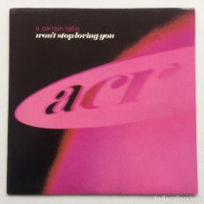 Discos de vinilo: A CERTAIN RATIO ‎– WON'T STOP LOVING YOU / THE BIG E UK,1990. Lote 226396015
