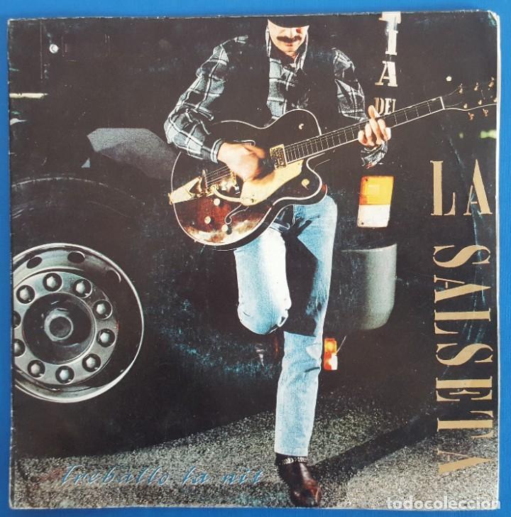 SINGLE / LA SALSETA DEL POBLE SEC / VINE NENA - UNA OBSESSIÓ / SALSETA DISCOS S-31.036-A / 1992 (Música - Discos - Singles Vinilo - Grupos Españoles de los 90 a la actualidad)