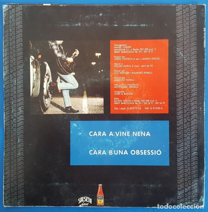 Discos de vinilo: SINGLE / LA SALSETA DEL POBLE SEC / VINE NENA - UNA OBSESSIÓ / SALSETA DISCOS S-31.036-A / 1992 - Foto 2 - 226397155