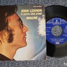 Discos de vinilo: JOHN LENNON - IMAGINE / IT´S SO HARD. AÑO 1.971. EDITADO POR EMI. Lote 226398490