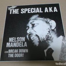 Discos de vinilo: THE SPECIAL AKA (SINGLE) NELSON MANDELA AÑO 1984 - PROMOCIONAL. Lote 226398725