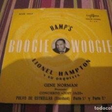 Disques de vinyle: EP LIONEL HAMPTON STARDUST POLVO DE ESTRELLAS COLUMBIA 70313 SPAIN JAZZ. Lote 226409780