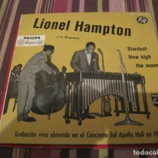 Discos de vinilo: SINGLE LIONEL HAMPTON STARDUST PHILIPS 421002 SPAIN JAZZ. Lote 226409860