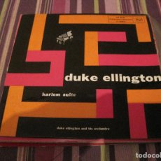 Discos de vinilo: SINGLE DUKE ELLINTON HARLEM SUITE RCA 20031 SPAIN JAZZ. Lote 226409925