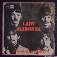 Discos de vinilo: THE BEATLES - LADY MADONNA. Lote 226413882