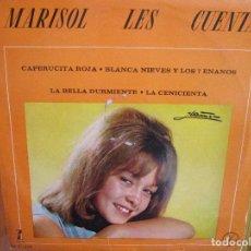 Discos de vinilo: LP HECHO EN MEXICO MARISOL LES CUENTA. Lote 226422315