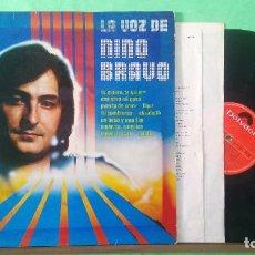 Discos de vinilo: NINO BRAVO - LA VOZ - LP BUEN ESTADO - LIMPIO ,CON ALCOHOL ISOPROPÍLICO. Lote 226423810