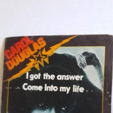 "Discos de vinilo: SINGLE DE CAROL DOUGLAS "" I GOT THE ANSWER "" .EDITADO POR MIDSONG EN 1979. Lote 226442385"