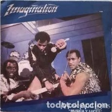 Discos de vinilo: IMAGINATION ‎– MUSIC AND LIGHTS = MUSICA Y LUCES. Lote 226448650