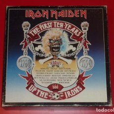 Discos de vinilo: IRON MAIDEN THE FIRST TEN YEARS 20 LP BOX SET. Lote 226464075