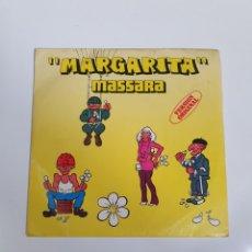 Discos de vinilo: MASSARA - MARGARITA / PART II, MOVIEPLAY 1979.. Lote 226467800