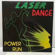 Discos de vinilo: LASERDANCE ‎– POWER RUN - 1987. Lote 226475495